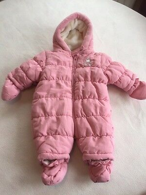 Baby Girls Clothes Newborn - Cute Girl Snowsuit Pramsuit All in One -