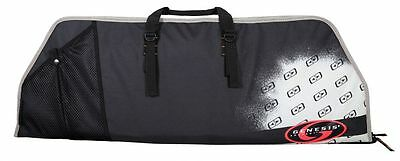 Easton Archery Flatline Compound Bow Case Rip-Stop Nylon Heavy Duty Padded Black