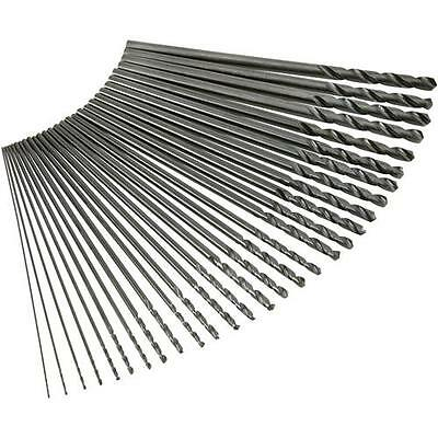 """G9751 Grizzly Aircraft Extension Drill 29 pc. Set, 1/16"""" - 1/2"""" x 12"""" Long"""