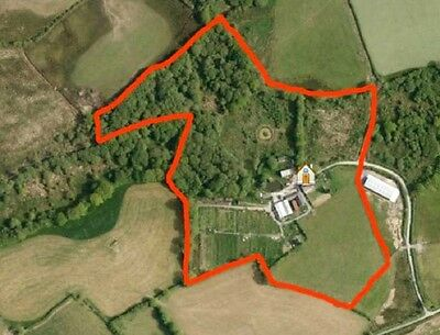 SMALL HOLDING WITH 17 ACRES AND Range of traditional and modern outbuildings