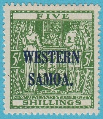Samoa 196 Mint Hinged Og * No Faults Extra Fine !
