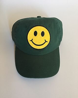10c874023c0 Unisex Smiley Face Patch Dad Hat Unstructured Baseball Cap