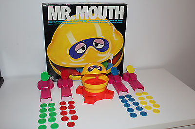 Vintage MR. MOUTH Exciting All-Family GAME *** 1976 Tomy CANADA / RARE L@@K