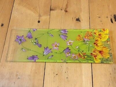 Goebel The Smithsonian Collection Wildflower Tray With Original Box