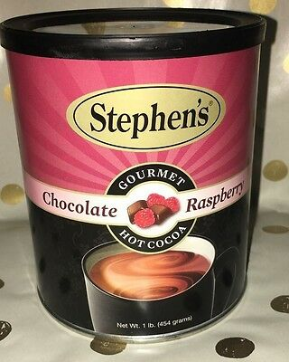 Stephen's Chocolate Gourmet Hot Cocoa Raspberry 1 Lb We Ship FAST
