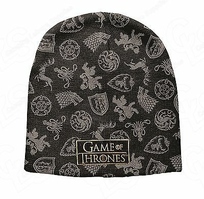 Game of Thrones Sigils Beanie- Game of Thrones - Great gift idea