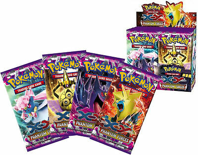 1 Booster Pack 10-Cards XY4 Phantom Forces Pokemon | Genuine Sealed from Box