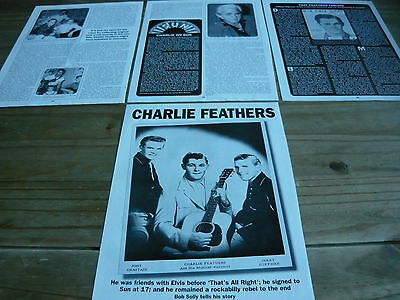 Charlie Feathers - Magazine Cuttings (Article)