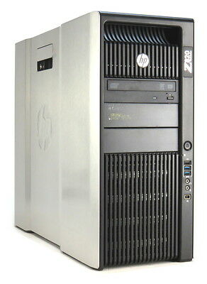 HP Z820 Xeon Quad Core E5-2643 @ 3,3GHz 16GB 512GB SSD DVD±RW Quadro K2000/2GB