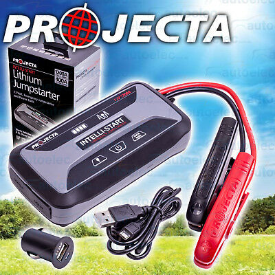 Projecta Lithium Jumpstart Battery Pack 1200A 12 Volt For Diesel Petrol Is1200E