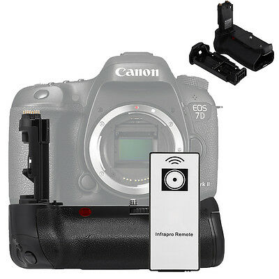 Multi-Power Battery Grip Replacement BG-E16 for Canon EOS 7D Mark II MkII DSLR