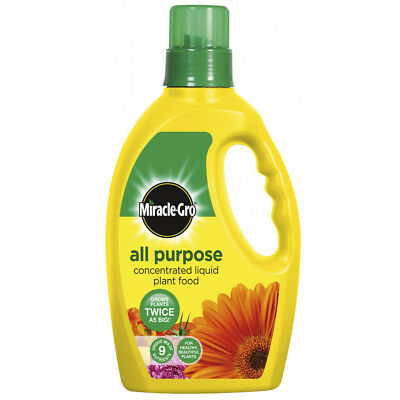 Miracle Gro Grow All Purpose Concentrated Liquid Plant Food Fertiliser 1L