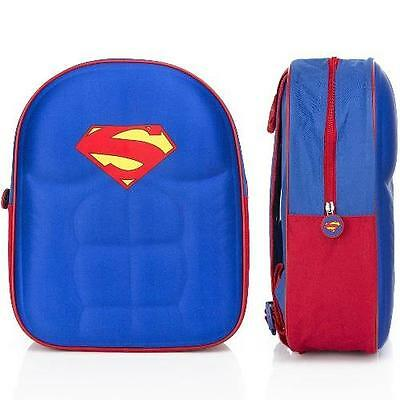 Superman - 3D Childs / Mini Backpack / Rucksack - New & Official With Tag