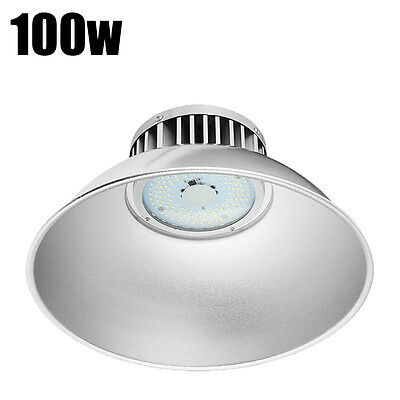 100W LED High Bay Lighting Lamp Warehouse Industrial Factory Commercial Roof
