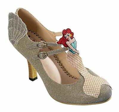 Dancing Days Stella By Starlight Mermaid Mary Jane Heels Glitter Swing Shoes