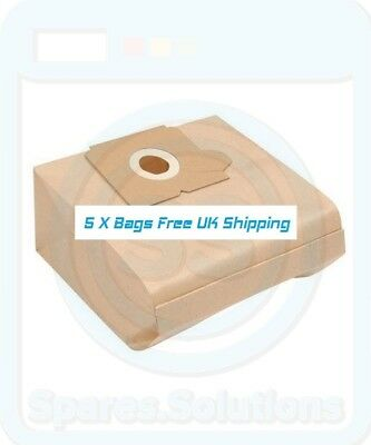 Vacuum Dust Bags for Electrolux Z4490 Z4491 Z4491S -Pack Of 5- E53 Type
