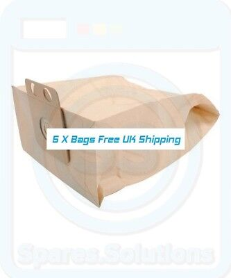 Dust Bags for Nilfisk GDP2000 CDF2040 HDS1005 818460.00 -Pack Of 5- GD Type