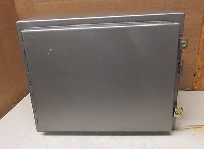 "Hoffman A-201608Lp Steel Electrical Enclosure 20""x16""x8"" With Back Plate"