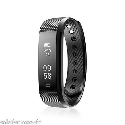 IP67 Impermeable Deporte Bluetooth Banda Inteligente Smart Watch For Android IOS
