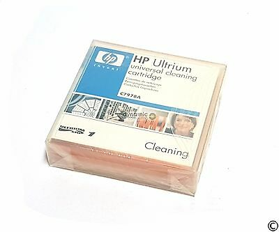 NEW Sealed HP C7978A Ultrium LTO Universal Cleaning Cartridge