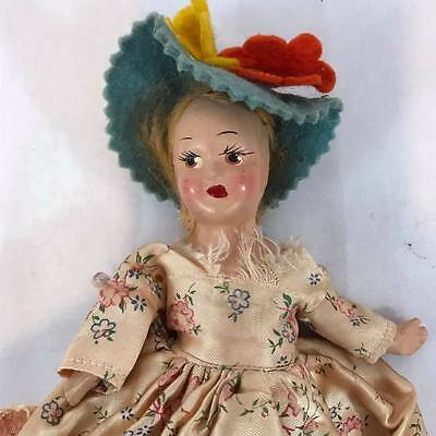 """Vintage Composition Princess Ann Doll with Original Clothes 7"""" Inches"""