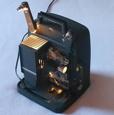 8mm FILM PROJECTOR B&H 256 Works Great BELL & HOWELL Auto Load HOME MOVIE
