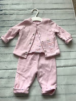 Baby Girls Clothes 0-3 Months - Pretty Jacket & Trousers Outfit