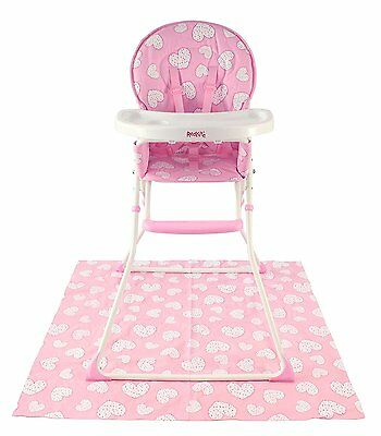 NEW Red Kite Feed Me Infant Baby Compact Folding High Chair - Pretty Kitty