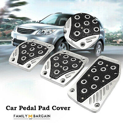 3pcs Set Universal New Non-Slip Manual Car Truck Pedal Pad Cover Easy Fit 023