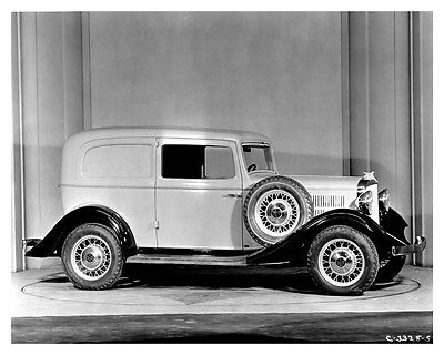 1933 Hudson Terraplane Six Sedan Delivery Factory Photo uc0037
