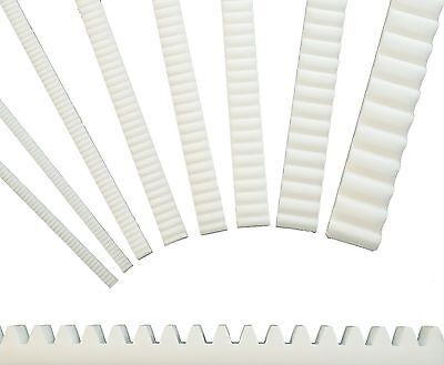 Rack and pinion Module 0,5 - 3,0 selectable - Plastic - Gear rack Type ZA