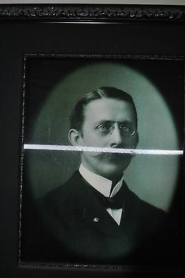 """Haunted Memories """"Uncle Percy"""" Framed 25"""" x 30"""" Changing Portrait"""