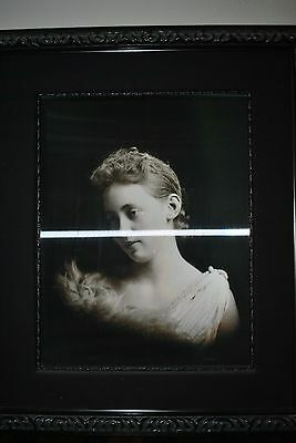 """Haunted Memories """"Aunt Polly"""" Framed 25"""" x 30"""" Changing Portrait"""