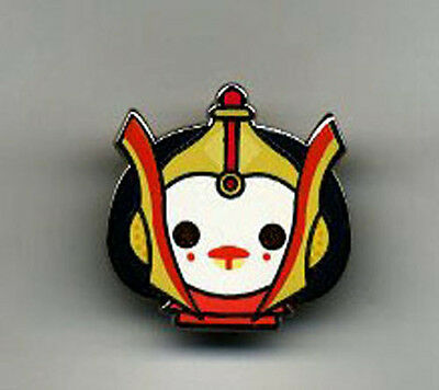 Star Wars Celebration Europe 2016 Emoji Queen Amidala Pin US Seller RARE