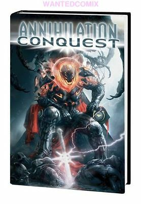 Annihilation Conquest Omnibus Marvel Hc Guardians Of The Galaxy #1 2 3 4 5 6 New