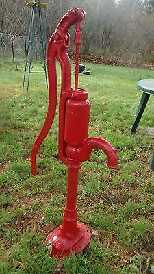 "LARGE ANTIQUE MYERS HAND WATER WELL PUMP for FARM GARDEN OLD 43 ""inches."