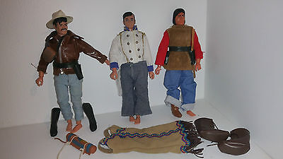 Gabriel Marx The Lone Ranger Action Figures Job Lot With Clothes And Accesories