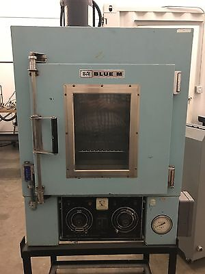 "Blue M Power-O-Matic 60 Lab Oven $500 Temp Chamber  interior=17""Hx19Wx17D"