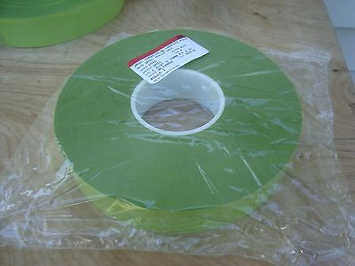 """3M IMPERIAL LAPPING FILM 252X  2mil Rolls 1 1/2"""" x 1800' Aluminum Oxide A/O 1MIC"""