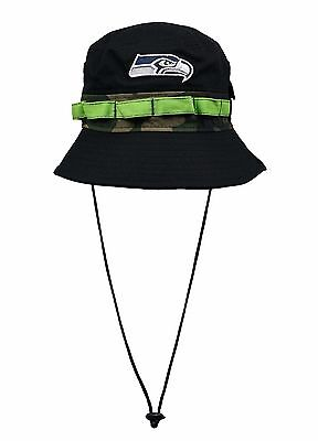 NFL NEW ERA Seattle Seahawks Training Bucket Hat Osfa -  23.99 ... 6f78d3d3339d