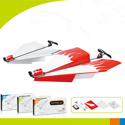 Novelty Power Up Electric Paper Plane Airplane Conversion Educational Toy