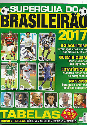1X Mag Magazine Superguia Do Brasileirão - Super Brazilian Guide 2017 W Profiles