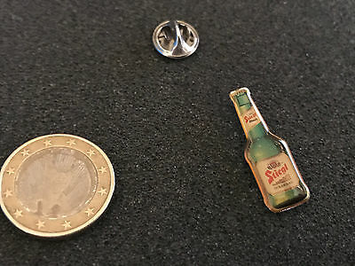 Bier Beer Pin Badge Stiegel Bierflasche