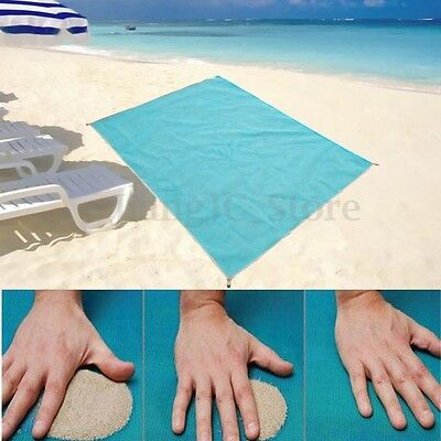 200x200cm Quick Sand Free Beach Mat Large Waterproof Outdoor Camping Picnic Pad
