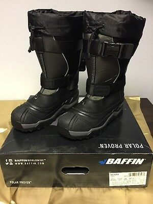 Baffin Selkirk Black Boots EPIC-M002-W01 Size 11