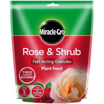 Miracle Gro Garden Rose & Shrub Plant Food With Magnesium 750gm Pouch
