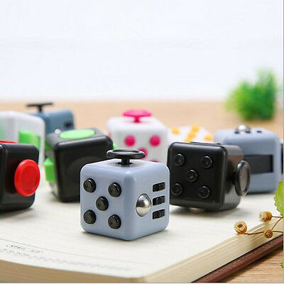 Vinyl Desk Toy Children Desk Toy 1 PCS Cubes Relief Fidget Cube Adults Stress