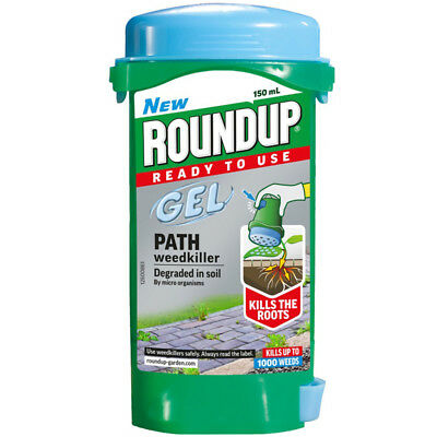 Roundup Path & Drive Gel Systemic Weedkiller Contains Glyphosate 150ml