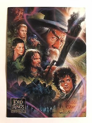 2008 Topps Trading Card The Lord Of The Rings Masterpiece Series Two #1