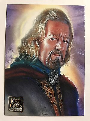 2008 Topps Trading Card The Lord Of The Rings Masterpiece Series Two #7